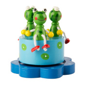 Frog Merry Go Round Music Box for Children