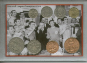 Liverpool FC (The Reds) Vintage Bill Shankly Football League Championship Champions Winners Retro Coin Present Display Gift Set 1964