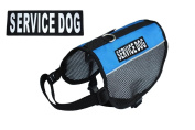 Service Dog mesh vest Harness Cool Comfort Nylon for dogs Small Medium Large Purchase comes with 2 reflective SERVICE DO