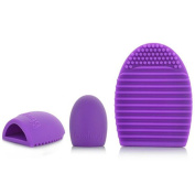ABC® Cleaning Glove MakeUp Washing Brush Scrubber Board Cosmetic Clean Tool