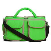 7AM Enfant Voyage Nappy Bag, Neon Green, Large