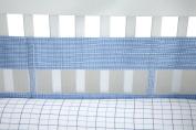 Nautica William Secure-Me Crib Liner, Multi-Coloured