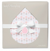 Baby Dumpling Muslin Swaddle Blanket, Pretty Petals, 110cm x 110cm