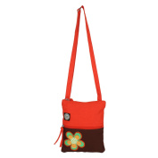 Anekaant Whimsical Solid Floral Women Canvas Sling bag