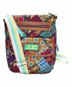 Lily Bloom Patched Shapes Crossbody Tablet Case