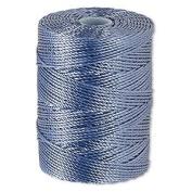 C-LON Bead Cord, Light Blue - .5mm, 92 Yard Spool