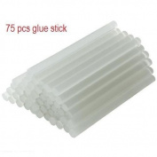 Glue Gun Sticks Adhesives Hot Melt Mini Round Glue Gun Stick Clear for Glue Gun Arts Craft 7mm X 100mm 1 Lot of 75 Pcs