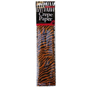 Large Crepe Paper - Animal Print Design - 4 Designs Included - 12 Sheets (3 of each) - Size 19.7 x 15.7