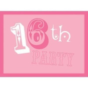 16th Birthday Party Pinkalicious Invitations