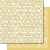 Bella! Get Hitched Double-Sided Cardstock 30cm x 30cm -Braid