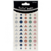 Bella! Wedding Self-Adhesive Droplets 50/Pkg-Pastel