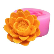 Flower C499 Craft Art Silicone Soap Mould