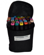 Fabric Markers Crafts 4 All® Permanent 36 Pack Dual TIP Premium Quality Assorted Bright Fine Writers Art Fabric Pens. Child Safe & Non Toxic.design Your Own T-shirts,bag,shoes