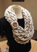 Kay's DIY Aspen Tweed Rope Crochet Scarf Kit