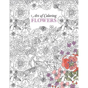 Leisure Arts-Art Of Colouring Flowers