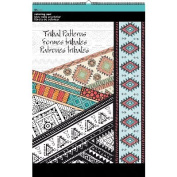 Trends Colouring Pad 28cm x 43cm -Tribal Patterns