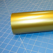 30cm x 3m Roll of Glossy Oracal 651 Metallic Gold Vinyl for Craft Cutters and Vinyl Sign Cutters