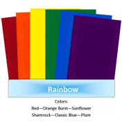 "TheSampler ""RAINBOW"" by ColorClassics 4x6 Photo Insert Card - Pkg 24"