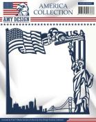 Find It Trading Amy Design America Die-America Frame