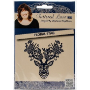 Tattered Lace Metal Die-Floral Stag
