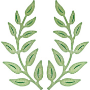 Cheery Lynn Designs B147 Olive Branches Scrapbooking Die Cut