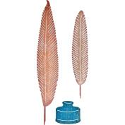 Cheery Lynn Designs B369 Quill & Ink Pot Scrapbooking Die Cut