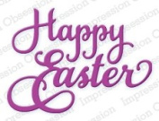 Happy Easter Die for Scrapbooking