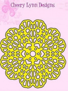 Cheery Lynn Designs Italian Flourish Tiny Doily DL233