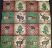 12x12 Scrapbook Paper Christine Adolph HOLIDAY SEASON CHRISTMAS - 6 Sheets