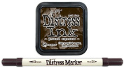 Tim Holtz Ranger Distress 2015 Colour of the Month Ink Pad and Marker Bundle - 2 Items