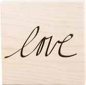 ColorBox Teresa Collins Wood Mount Stamps, Love