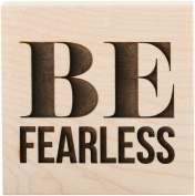 ColorBox Teresa Collins Wood Mount Stamps, Be Fearless