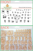 PK-694 The Uglies, Peachy Keen Stamps Clear Face Assortment