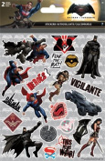 BATMAN VS SUPERMAN Foldover STICKERS - 2 Sheets