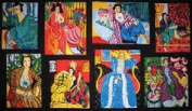 """The Women"" Quilt Block Fabric Panel (Great for Quilting, Sewing, Craft Projects, Throw Pillows & More) 60cm X 110cm Tall"