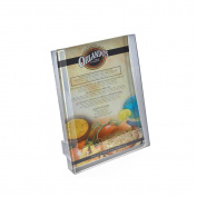 Azar 252302 Single Pocket Letter Size Brochure Holder for Counter, 10-Pack