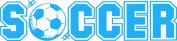 Design with Vinyl Design 296 - Sky Blue Soccer Sign - Removable Vinyl Wall Decal, 30cm By 100cm , Sky Blue