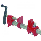 2 Piece 1.9cm Heavy Duty Cast Iron Pipe Clamp for Woodwork