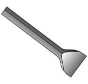 Bosch HS2267 Hammer Steel, 2.2cm Shank, Asphalt Cutter