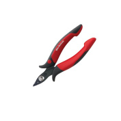 Wiha 56813 Precision Electronic Diagonal Full Flush Cutters With Wire Trapping Spring. 13cm