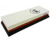 Seido 600/1000 Grit Combination Corundum Whetstone Knife Sharpening Stone / Premium Waterstone Knife Sharpener