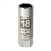 18mm Easy-To-Read Spark Plug Socket 3/8 in. drive