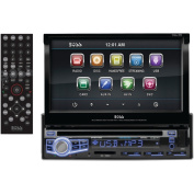 BOSS AUDIO BV9976B Single DIN 18cm Flip-Up DVD/MP3/CD & AM/FM Receiver with Blueto