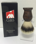 Syntethetic3rd generation shaving Brush and Clear Brush Stand -- nicely packaged