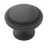 Amerock BP53001-ORB Oil Rubbed Bronze Round Rope Cabinet Hardware Knob - 3.2cm Diameter - 25 PACK