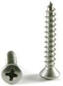 Phillips Oval Head Sheet Metal Screws 18-8 Stainless Steel - #36cm x 5.1cm Qty-1,000