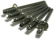 304 Stainless Steel Rivets - POP Blind Rivets Open End - 4-1, 0.3cm x 0.2cm Gap (0.032 - 0.062) Qty-100
