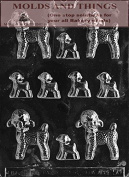 ASSORTED LAMBS- LARGE/SMALL Easter Chocolate candy mould with © moulding Instructions - set of 3