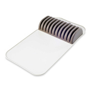 Safe in-Drawer Knife Mat with Soft Grip Slot in Grey Colour, Holds up to 11 Knives