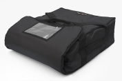 Black Polyester Insulated Pizza / Food Delivery Bag 16″ - 18″ Pizza Delivery Bag